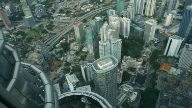View from Petronas Towers