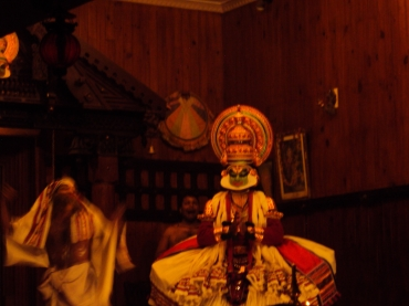 Indian Kathakali dance