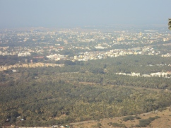 View from Chamudi hill (Mysore)