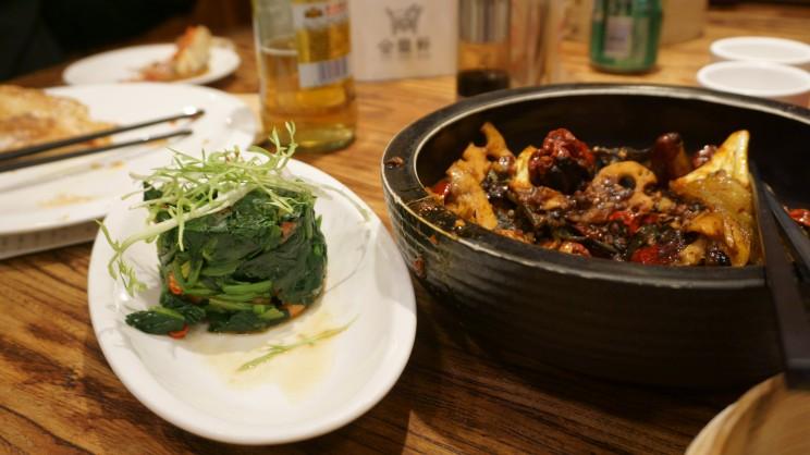 Dinner at Jin Ding Xuan - Beijing
